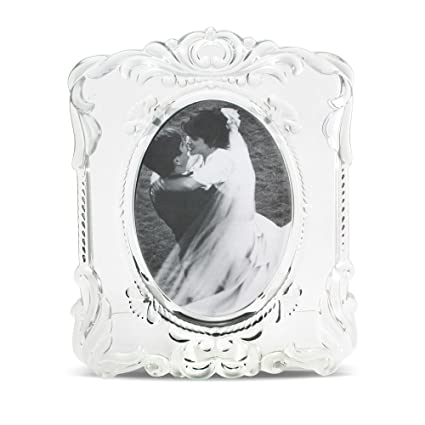 Amazon Mikasa Princess Oval 5x7 Crystal Frame Luxury Frames