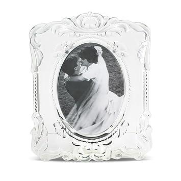 mikasa princess oval 5x7 crystal frame - Mikasa Picture Frames