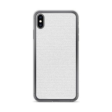 Amazon.com: Carcasa transparente para iPhone X/XS, XR, XS ...