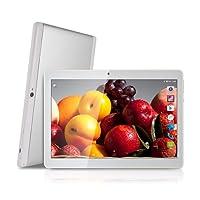 Android Tablet de 10'' Procesador de Cuatro núcleos 4GB de RAM y 64 GB de Memoria Tablet PC WiFi Cámara GPS y Doble Ranuras de Tarjeta SIM incorporados Sin límite del Tipo de Internet 3G Tabléfono