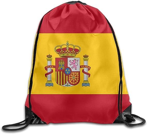 Mochila de viaje con diseño de bandera de España: Amazon.es: Ropa y accesorios