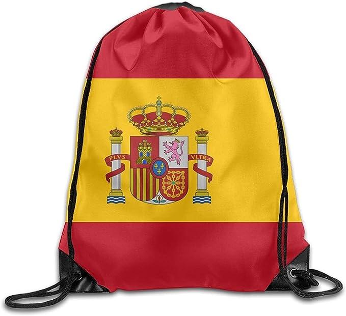 Mochila de viaje con diseño de bandera de España: Amazon.es: Ropa ...