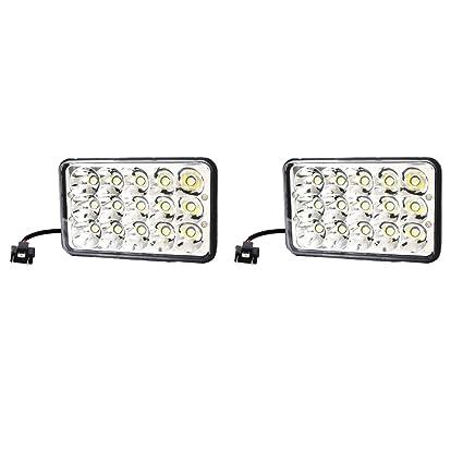 MagiDeal 1 Par 45W LED Bulbos Faro de Trabajo Proyector para ...