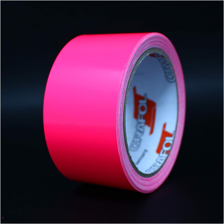 "Finest Folia Vinyl Stripe Tape Pinstriping Striping Sticker 33ft Car Motorcycle Bike RC Car Truck Boat Decal Neon Pink, 0,472/"""