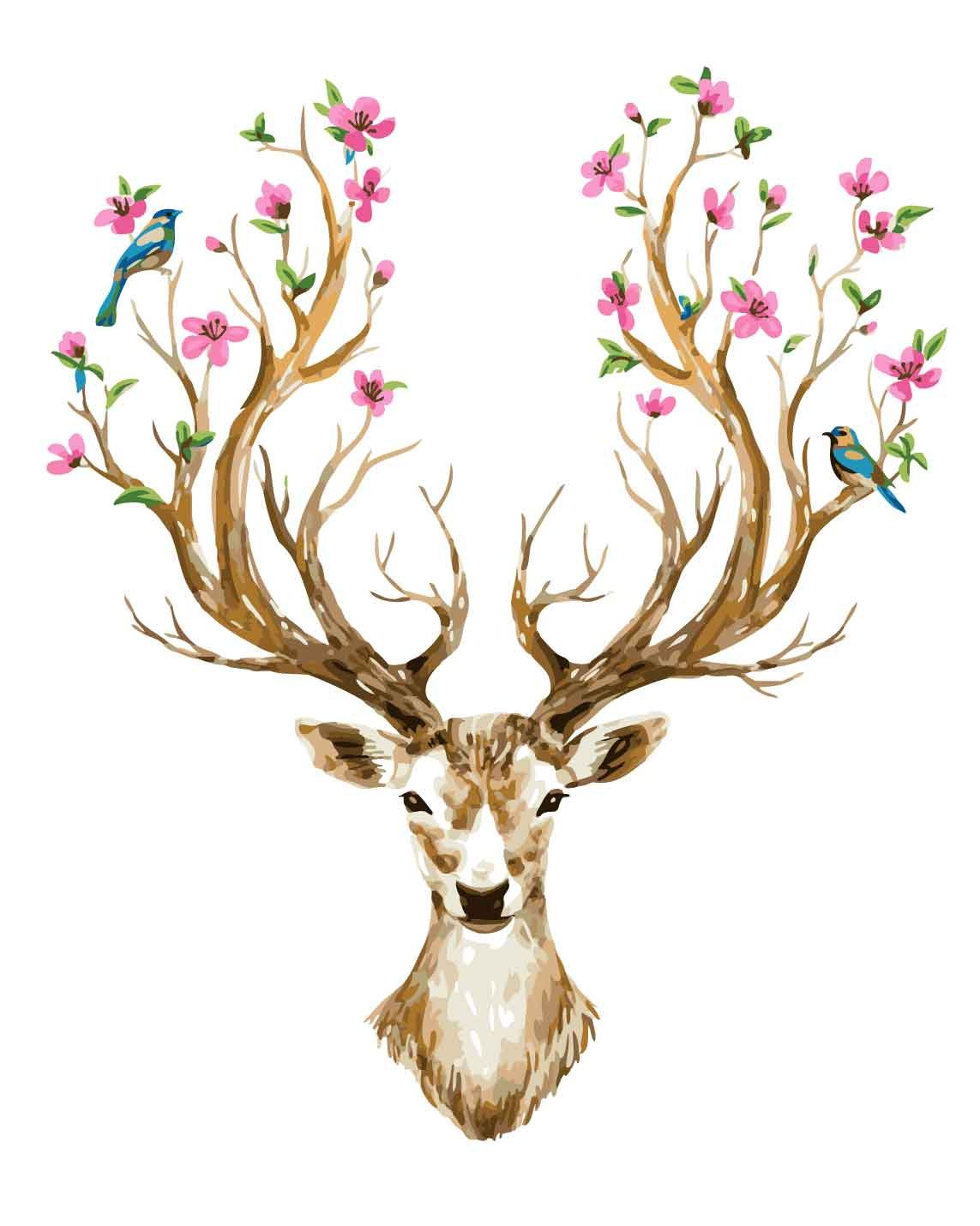 Pintura por Numeros (18628088) animal