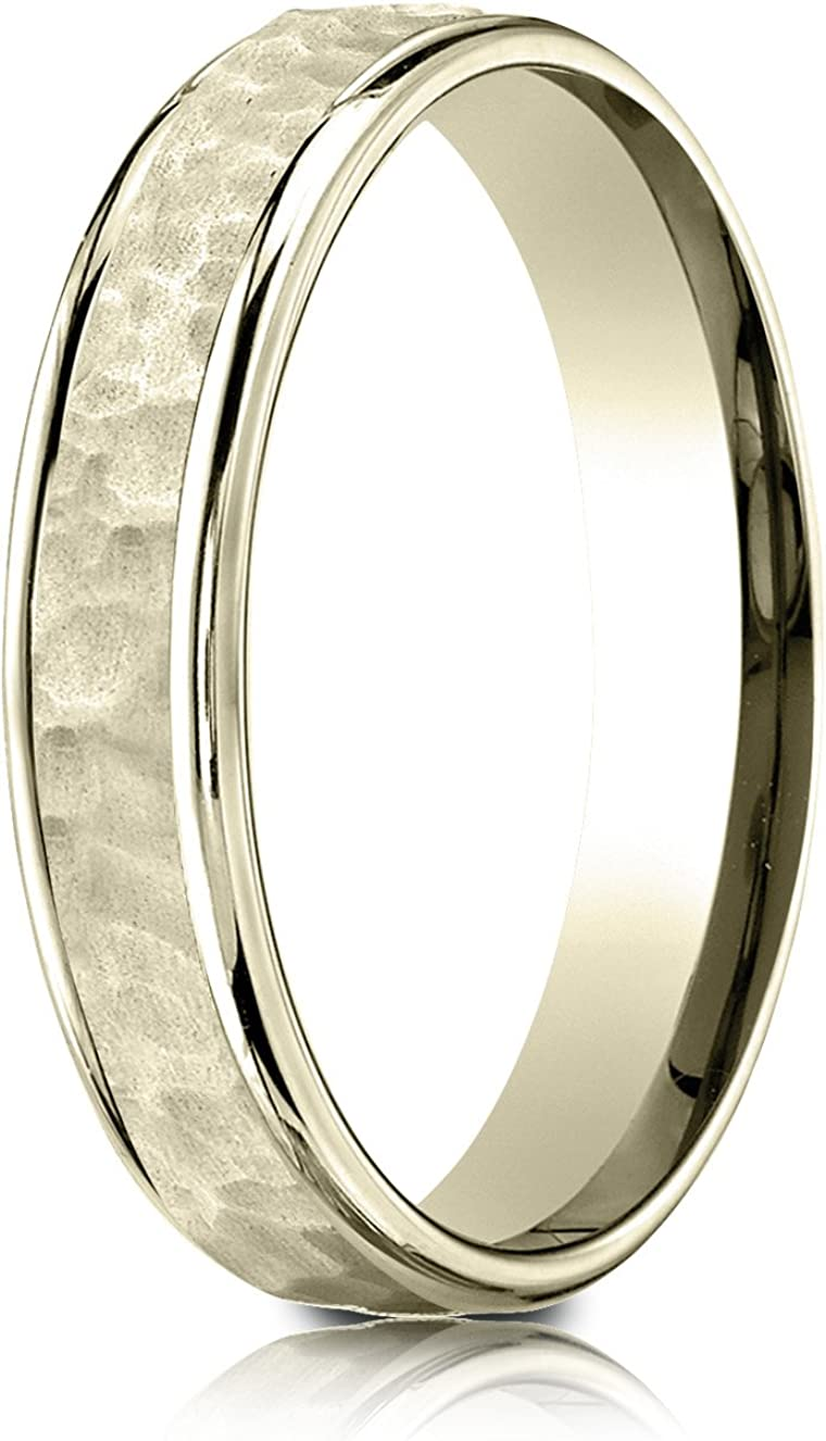Best Designer Jewelry 14KY 2mm Standard Flat Comfort Fit Band Size 13