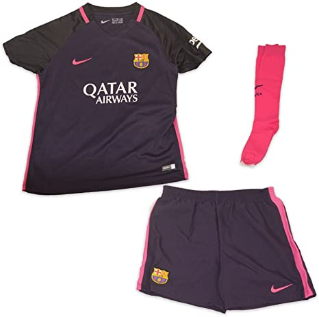 consenso mite confortevole  Nike FC Barcelona Little Kids Away Kit: Amazon.co.uk: Sports & Outdoors