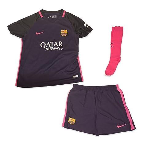 premium selection e431d adef8 Nike FC Barcelona Little Kids Away Kit: Amazon.co.uk: Sports ...
