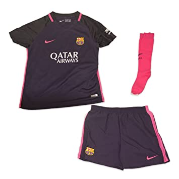 6551cb77ecc Nike FC Barcelona Little Kids Away Kit  Amazon.co.uk  Sports   Outdoors