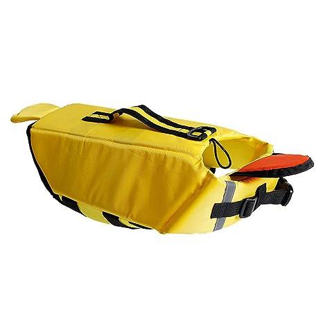 Chaleco salvavidas para perro chaleco salvavidas flotante para Animal de compañía flotador animauxen en forma tiburón