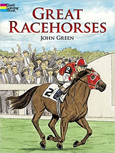 Great Racehorses (Dover Nature Coloring Book)
