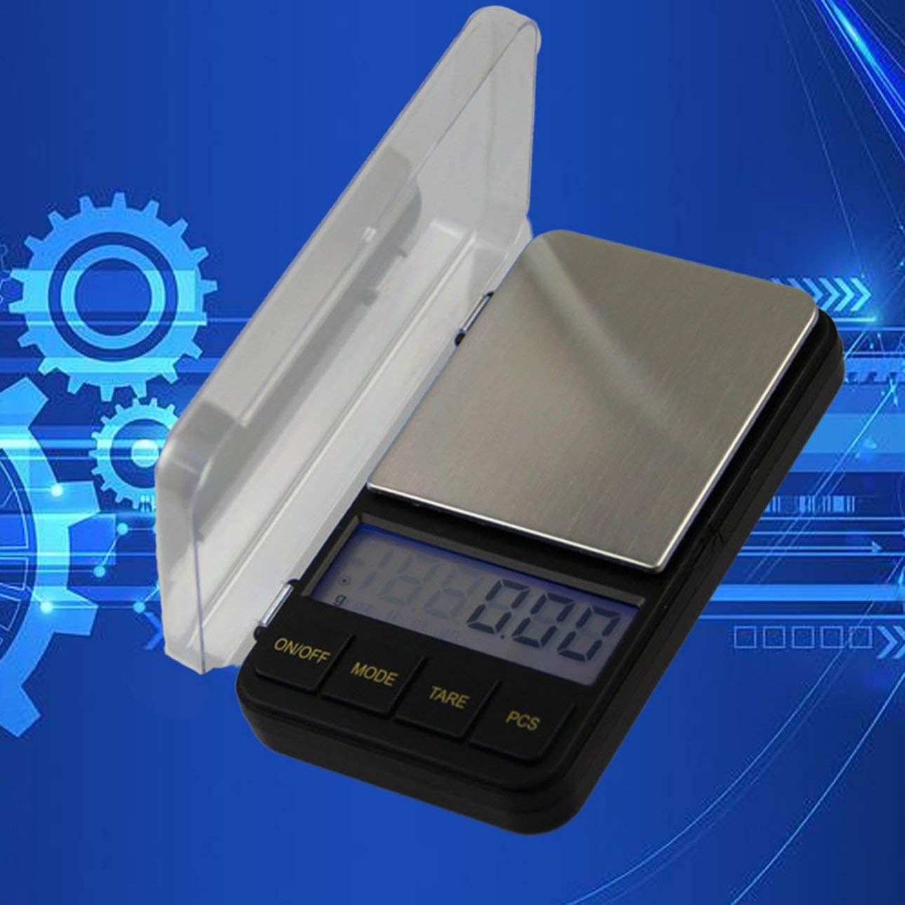 Liobaba Mini Portable Digital Pocket Scale Jewelry Scales Electronic Balance LCD Electronic Pocket Scale Weight Balance