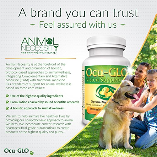 Ocu-GLO Vision Supplement for Small Dogs - Lutein, Omega-3 Fatty Acids, Grapeseed Extract - Support Optimal Eye Health & Vision in Dogs - Antioxidants for Canine Ocular Health - 90ct SNIP CAPS by Ocu-GLO (Image #6)