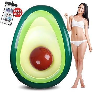 Amazon.com: Felicigeely Avocado flotador de piscina, Giant ...