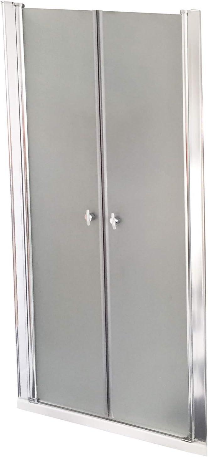Home Deluxe Puerta giratoria Lavea 70x195cm Vidrio Satinado