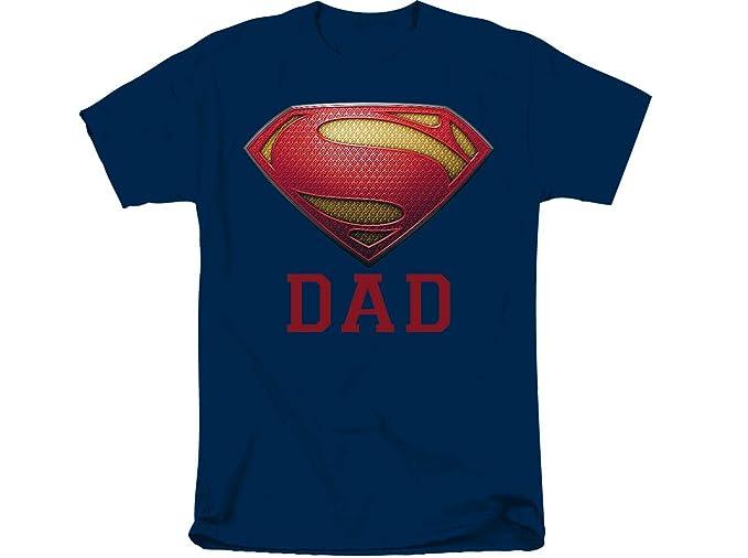 Image Unavailable. Image not available for. Color  DC Comics Superman Logo  Super Dad Mens T-Shirt ... 33f86e777e