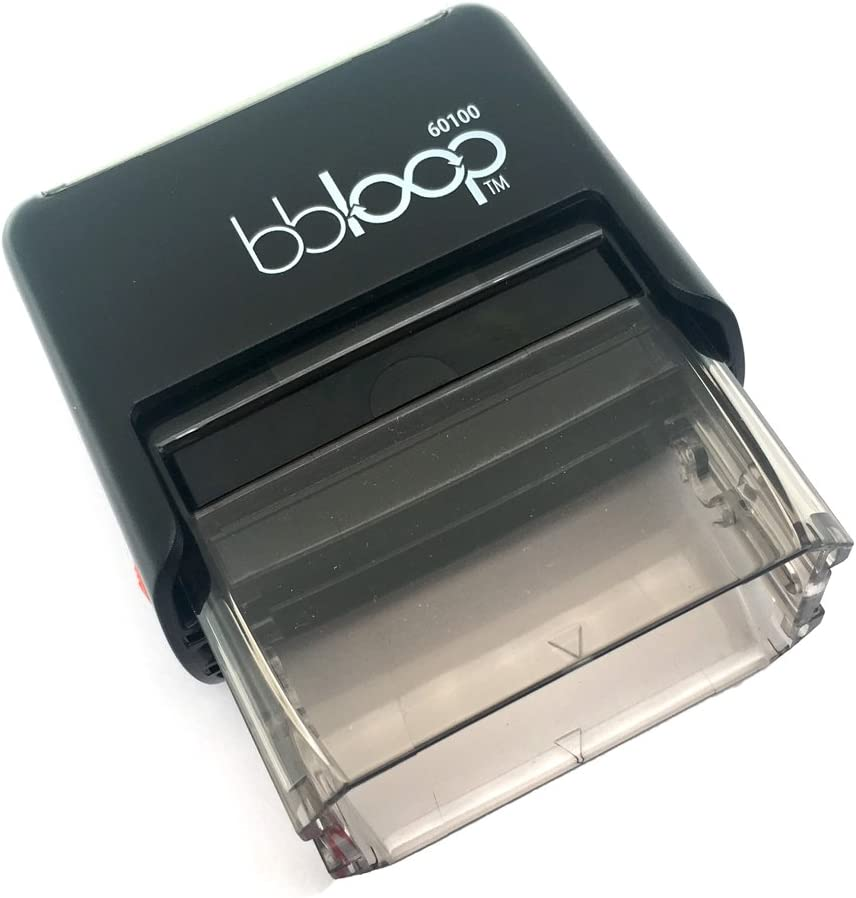 Verified w//Line for Date Self-Inking Rubber-Stamp