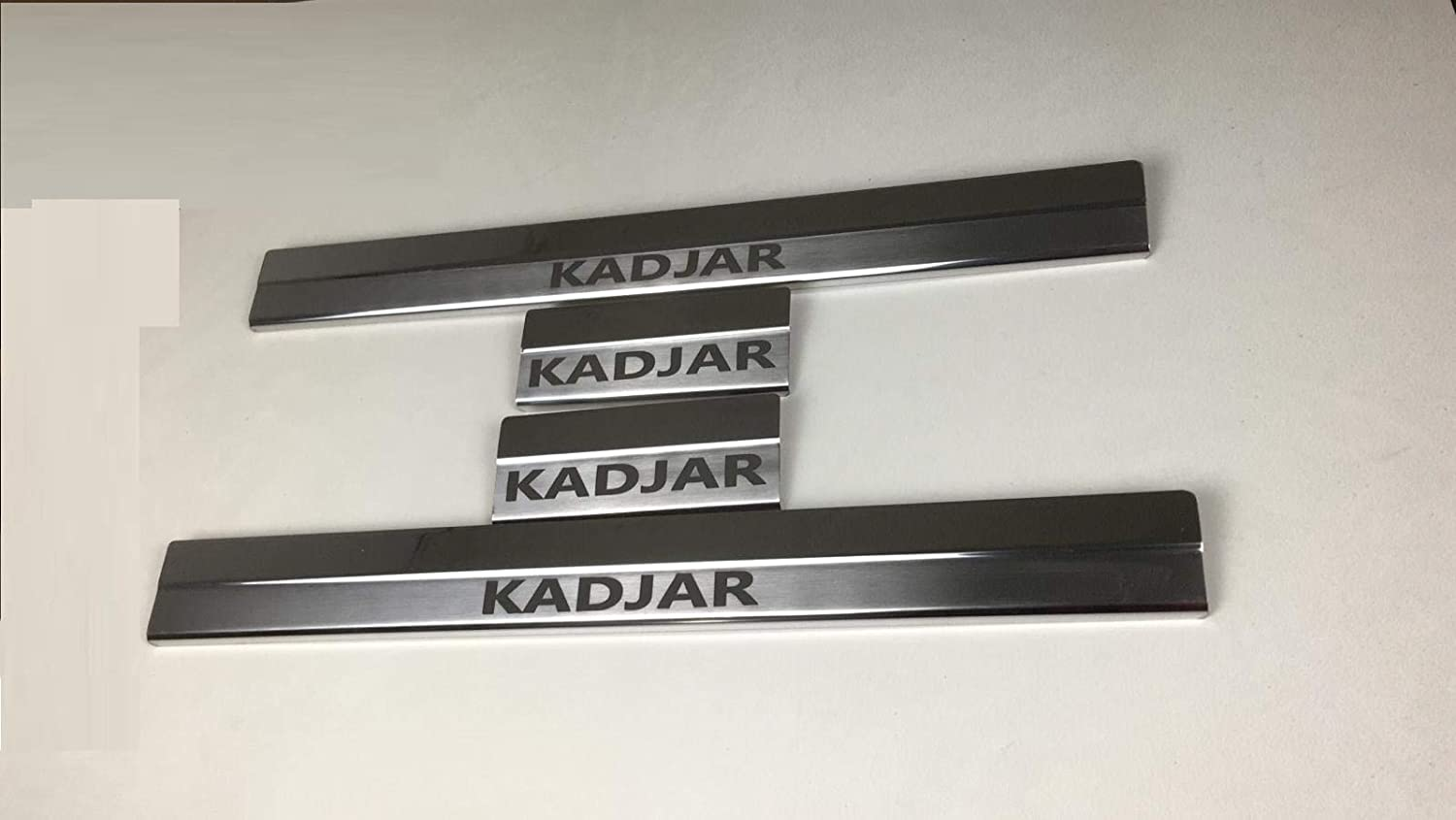 Chrome Door Sills covering Protector 4 Door stainless steel RENAULT KADJAR 2015