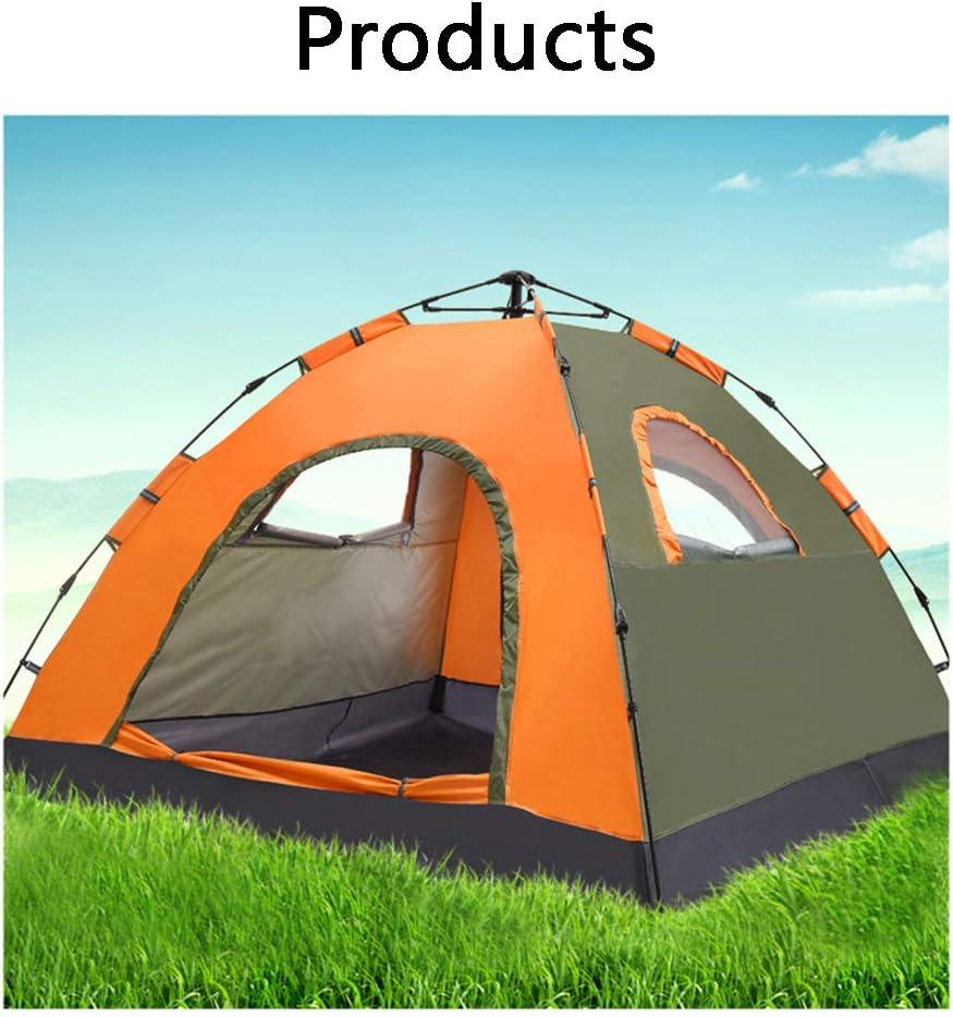 LXLTLB Tentes Instantanées, Abri De Plage avec Protection Solaire UV UPF 50+ pour 2-3 Personnes,Tente De Plage Instantanée Portable Escamotable,Orange Orange