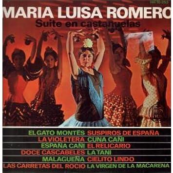 Maria Luisa Romero - Suite En Castanuelas LP (Vinyl Album) Spanish Hispa Vox - Amazon.com Music