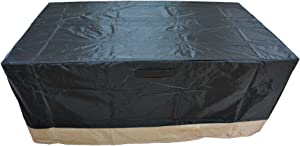"""Stanbroil Rectangle Fire Pit/Table Cover, 60"""" L x 38"""" W x 24"""" H"""