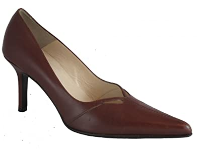 976055bce01 Amazon.com | DA'VINCI 4007 Women's Italian Leather Shoes | Pumps