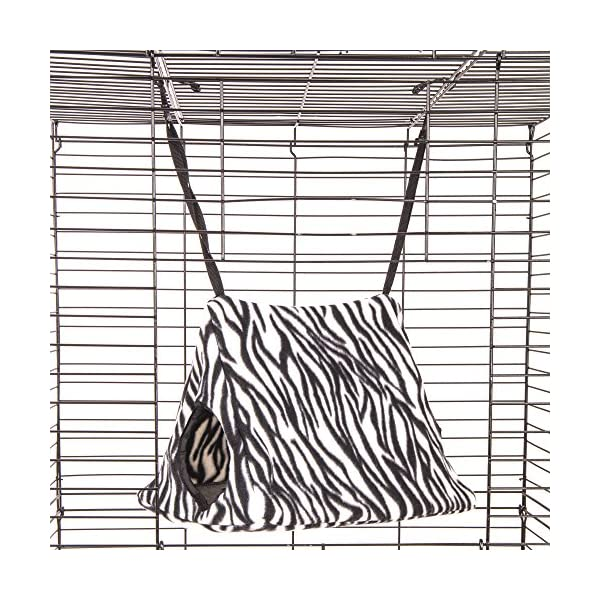 Ware Manufacturing Double Fleece Hang-N-Tent Sleeper for Small Animals - Colors May Vary 3