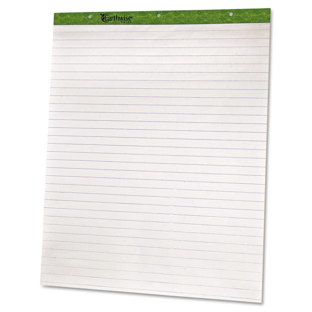 TOP24034 - Flip Charts, 1 Ruled, White, 2/Pack, Easel Pad Type - AmpadFlip Charts - Pack of 2