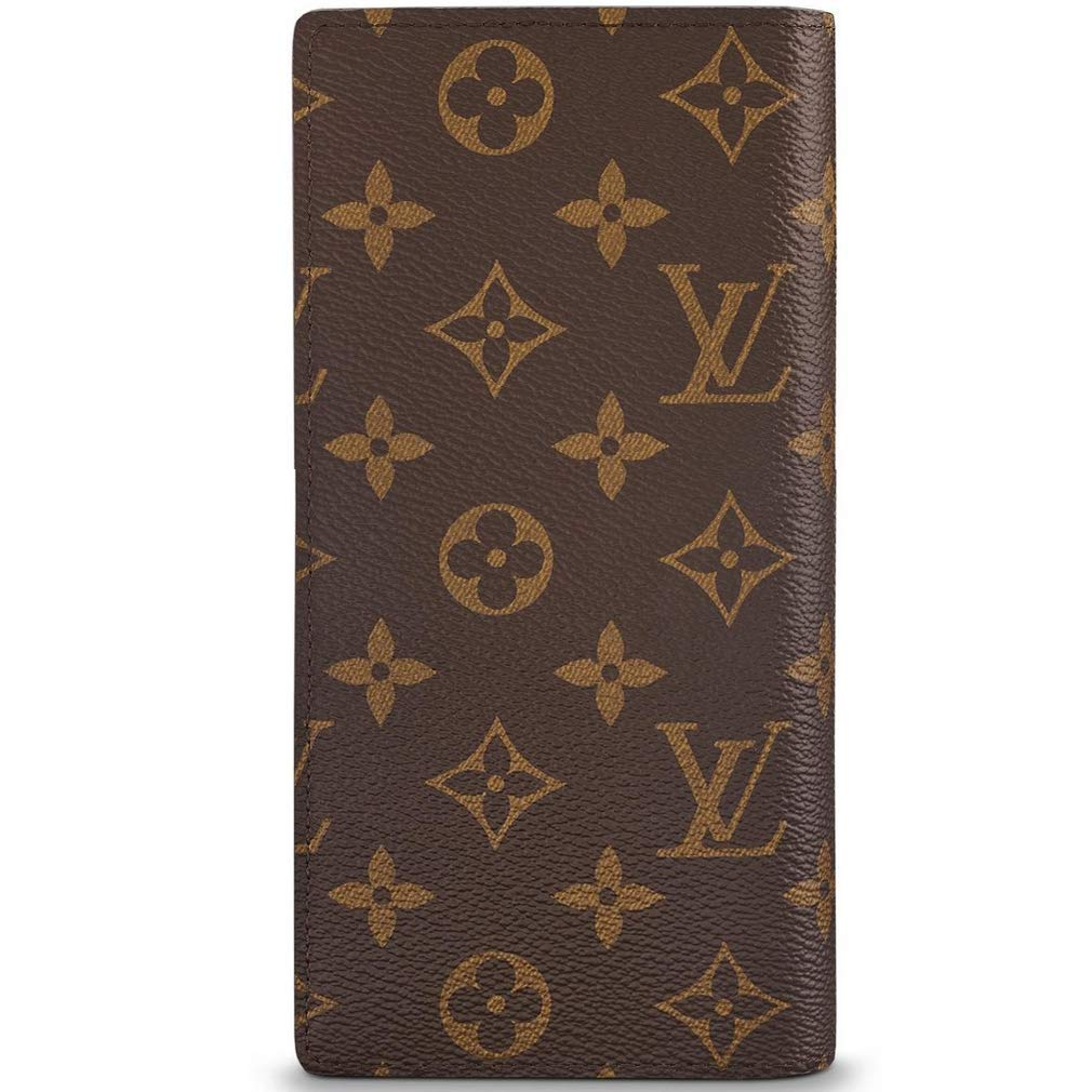 Amazon.com: Louis Vuitton Monogram Canvas Brazza Wallet ...