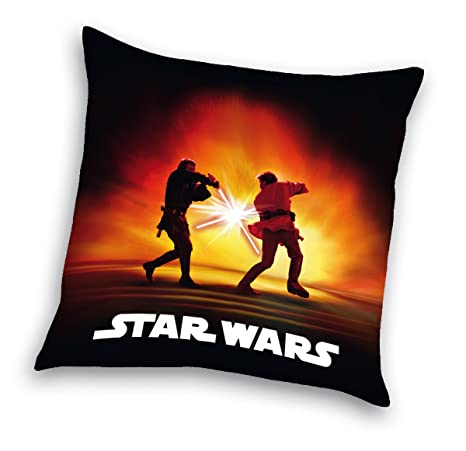Herding Star Wars Battle OBI WAN Kenobi & Anakin - Cojín ...