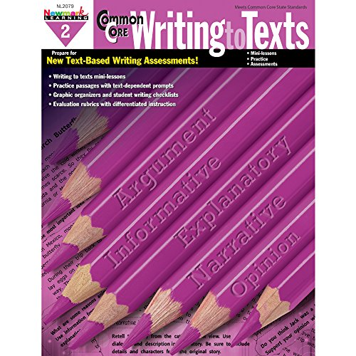 Newmark Learning Grade 2 Common Core Writing to Text Book (CC Writing)