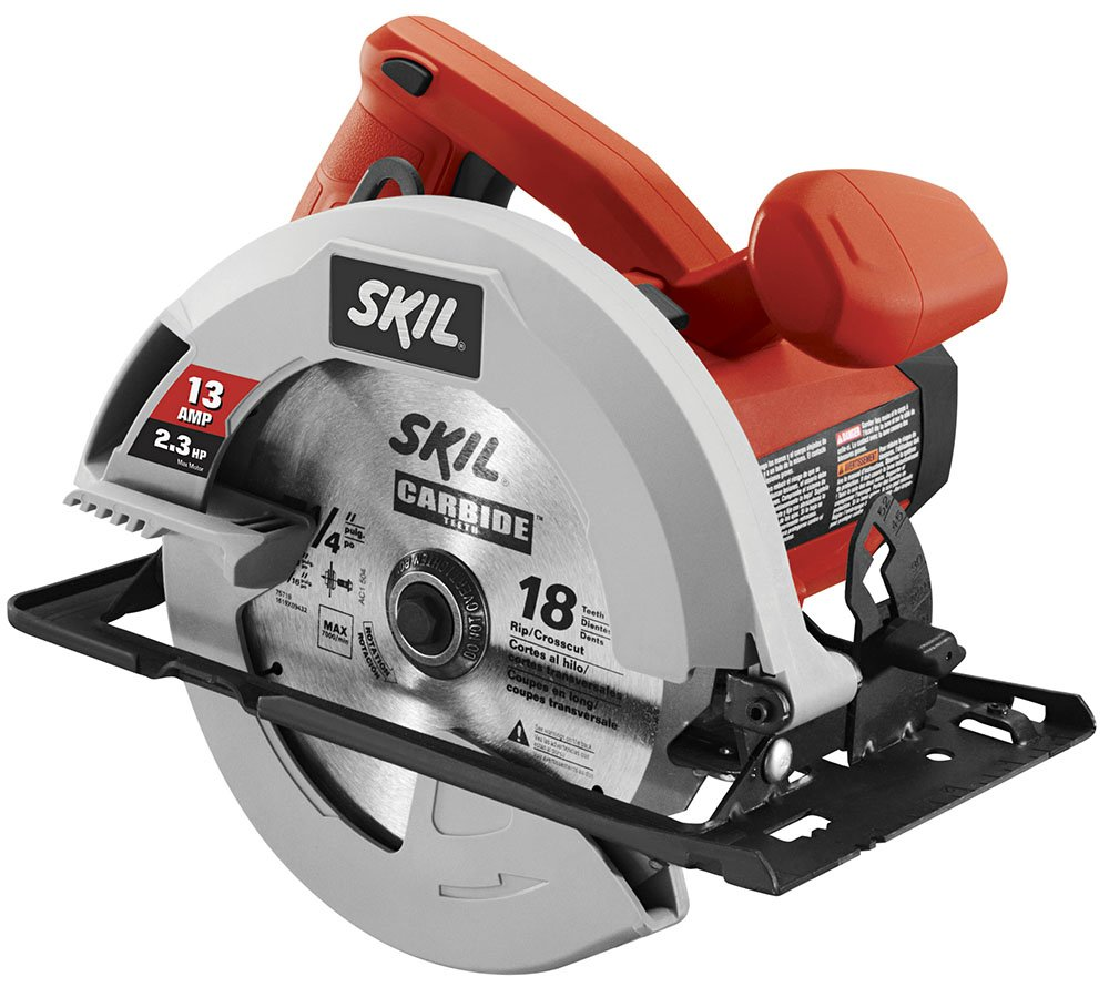 SKIL 5080-01 13-Amp 7-1/4'' Circular Saw, Red