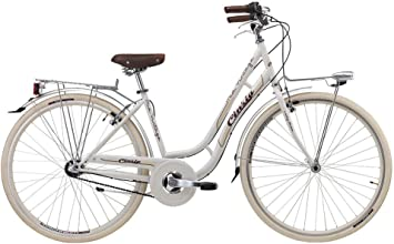 Bicicleta Cicli Cinzia Mia de mujer, con marco de acero, cambio a ...