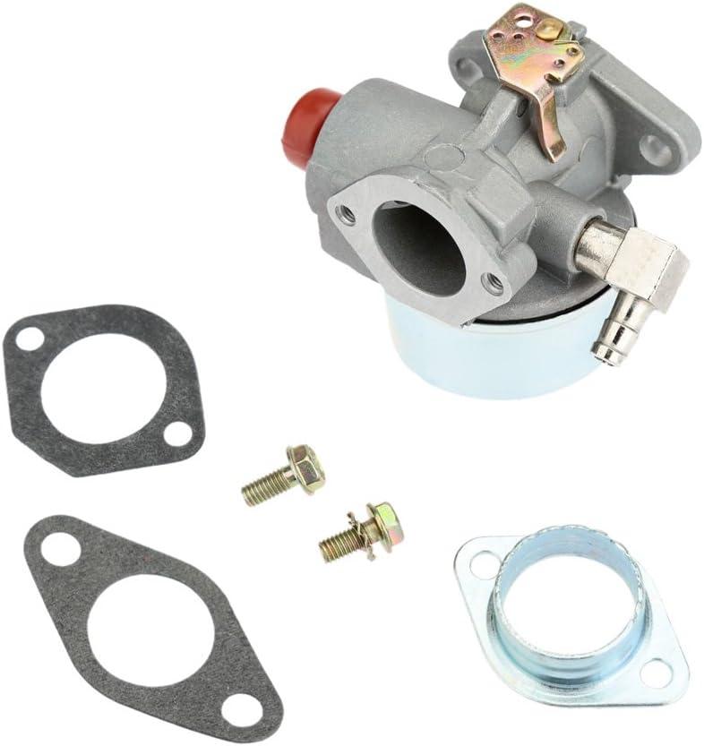 KKmoon Carburador para Tecumseh 632795A LAV 30 35 40 50 Reemplazo de Carbohidratos con Junta