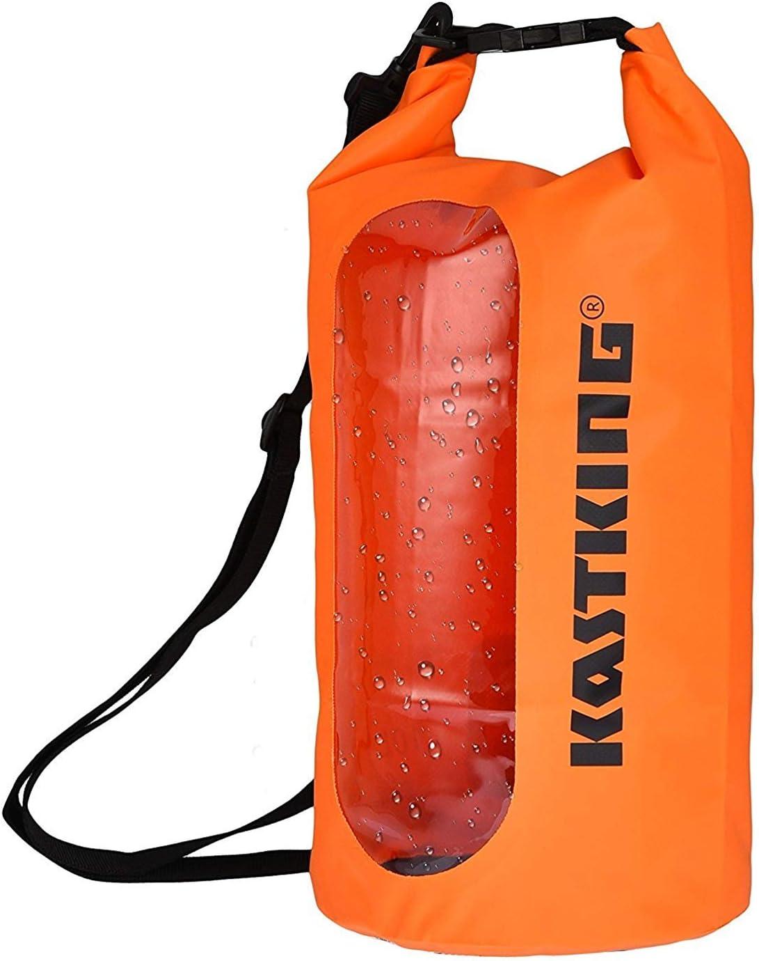 p/êche Kayak la randonn/ée et dautres activit/és de Plein air Camping KastKing Dry Sac /étanche Roll Top Sac pour la Plage