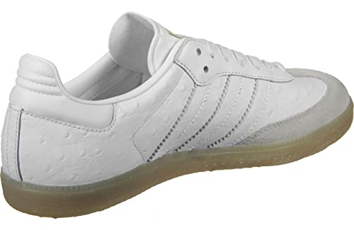adidas Samba W BZ0619, Zapatillas de Deporte para Mujer, Blanco Ftwbla/Dormet,