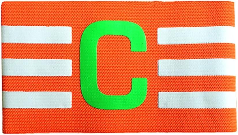 Binglinghua® - Brazalete de capitán de fútbol con Velcro y diseño ...