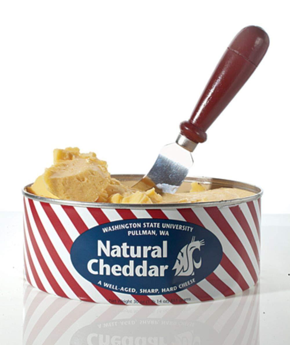 WSU Wazzu Creamery Natural Cheddar Cheese 30 Oz
