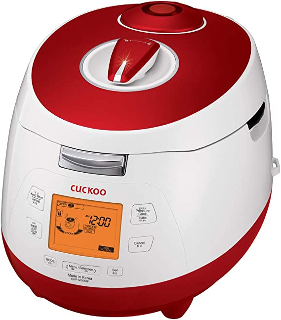 Cuckoo CRP-M1059F Digital steam Pressure Rice Cooker (1.8l / 1150W / 240V) with