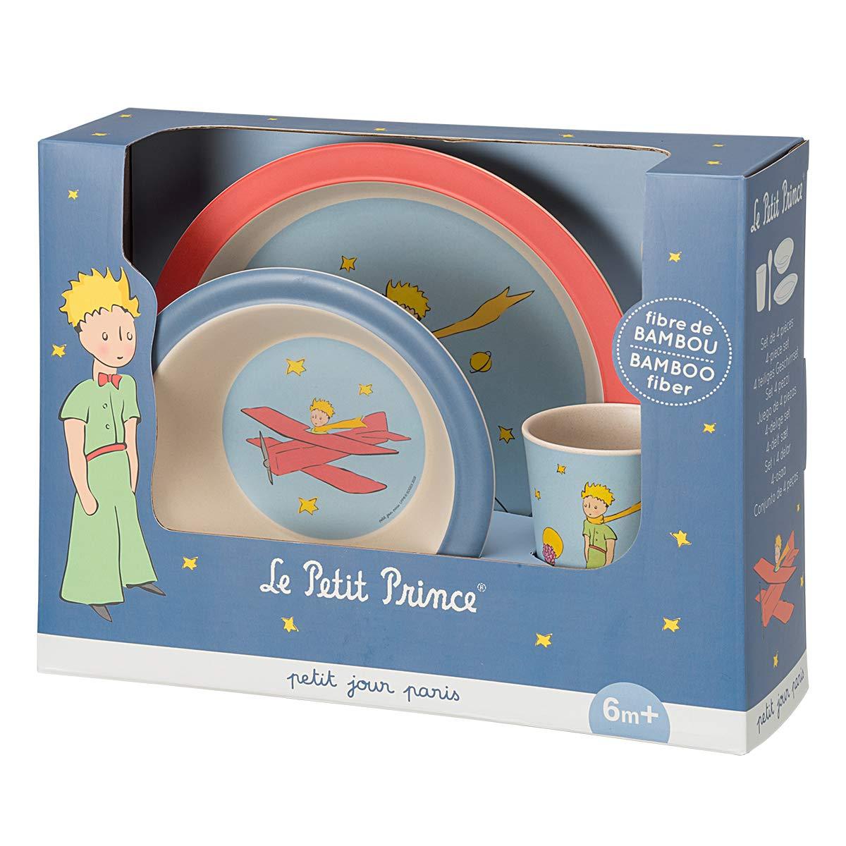 Coffret vaisselle bambouLe Petit Prince Petit Jour Paris Favorise lautonomie