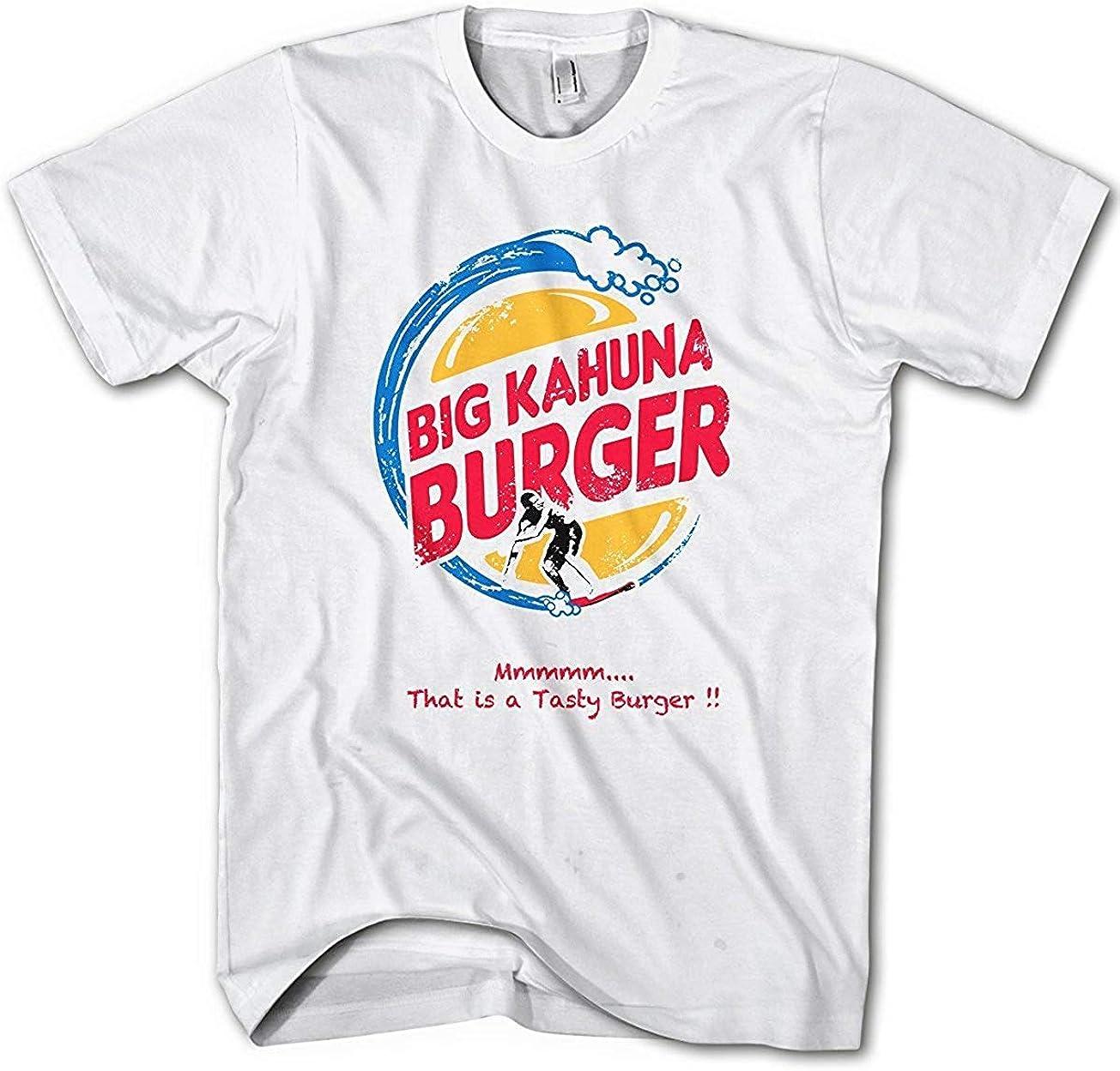T-Shirt Uomo Big Kahuna Burger Fiction Movie Pulp