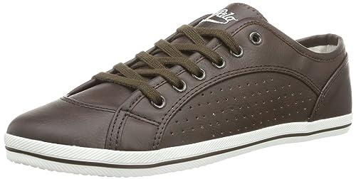 Buffalo 507-V9987 TUMBLE PU 135862 - Zapatillas para mujer, color marrón, talla 39: Amazon.es: Zapatos y complementos