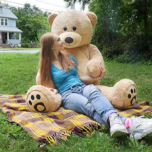 - WOWMAX 3 Foot Giant Teddy Bear Cuddly Stuffed Plush Animals Danny Teddy Bear Toy Doll for Birthday Christmas Brown 36 Inches