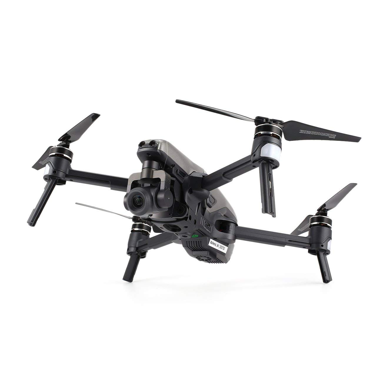 WOSOSYEYO Walkera Vitus 320 Folding 4K Camera 5.8G FPV 3-Axis Gimbal GPS RC Drone Quadcopter Black-Gray