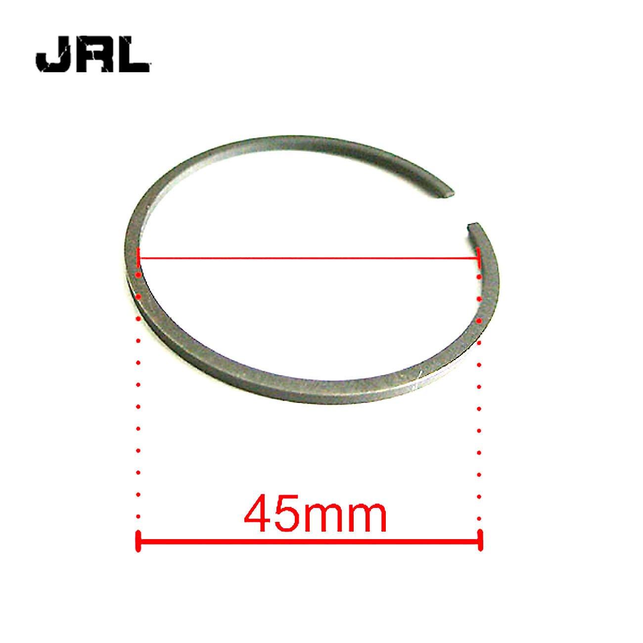 JRL CNC Black Cylinder Head/&Cylinder/&Piston For 80cc Engine Motorized Bike