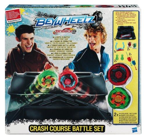 Hasbro Beyblade Beywheelz 373641860 Crash Course Battle Set