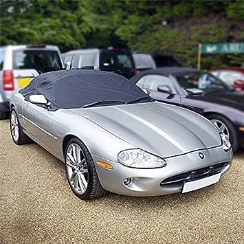 UK Custom Covers Jaguar XK8 Tailored Soft Top Roof Half