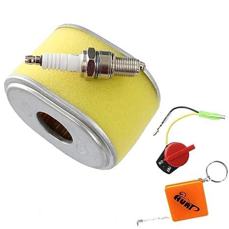 hurí Auto filtro de aire limpiador filtro de aire + prefiltro + Bujía + cambio Válido