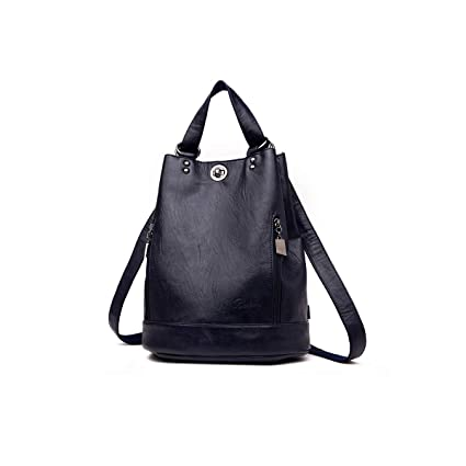 Stylish and Practical PU Leather for Women /& Men ZHICHUANG Girls Multipurpose Backpack for Daily Travel//Outdoor//Travel//School//Work//Fashion//Leisure Five Colors