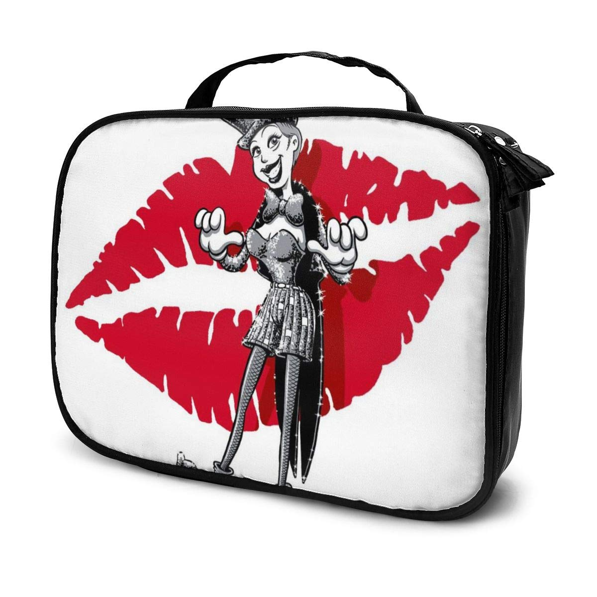 Makeup Bag Cosmetic Pouch Rocky Horror Picture Show Columbia Multi-Functional Bag Travel Kit
